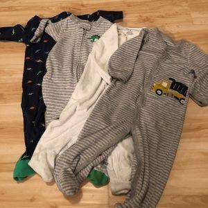 Other - Baby boy 9 month jammies bundle